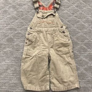OshKosh beige overalls